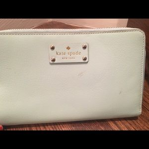 Kate Spade Wellesley travel wallet